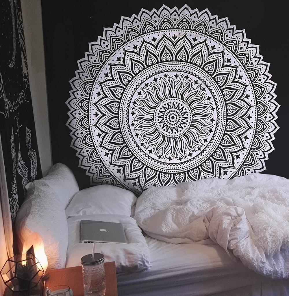 Großhandel Große Größe Mandala Tapisserie Wandbehang Böhmischen