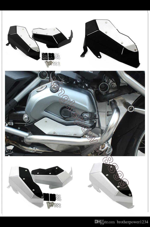 Alüminyum Silindir Kapak Muhafızları Kapak BMW R1200GS / Adventure 2013-on Su Soğutmalı
