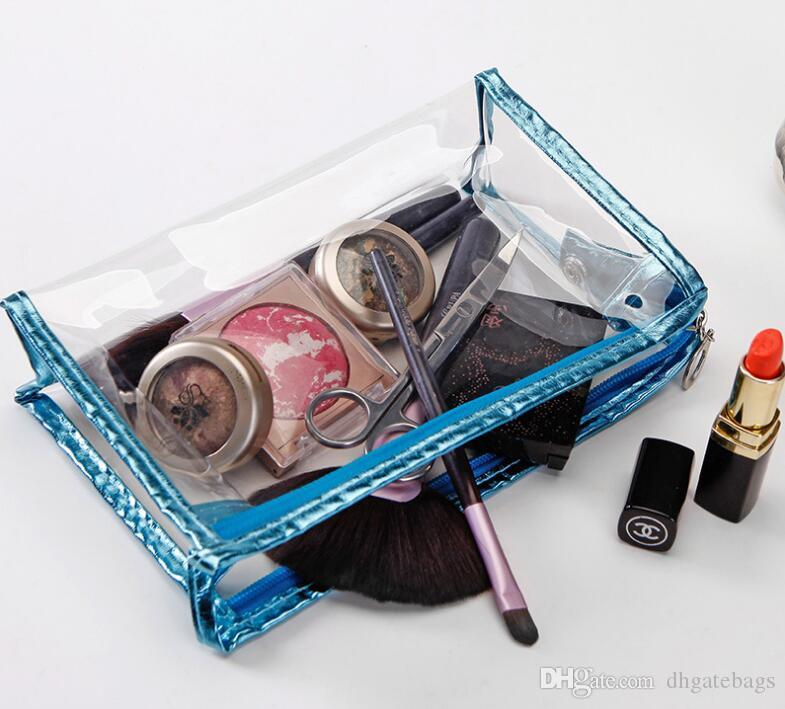 Multi-funktionale Aufbewahrungstasche Lady MakeUp Tasche wasserdicht Kosmetik Make-up Tasche Clutch hängenden Toilettenartikel Reiseveranstalter Casual Geldbörse