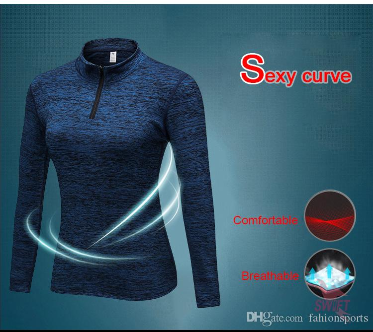 Winter Women Compression Plus Velvet Long Sleeve T-Shirts Slim Fit Running Fitness Yoga Clothes Skin Tight Quick Dry Thermal Top