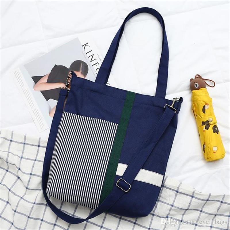 1520860803c1 Hot-sale Diagonal canvas bag female student literature Korean version of  the shoulder Korean ins Harajuku style ulzzang simple wild bag