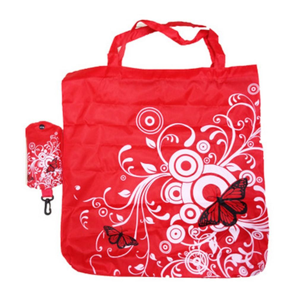 Foldable Market Shopping Bag Eco Reusable Recycle Storage Grocery Handbag Tote