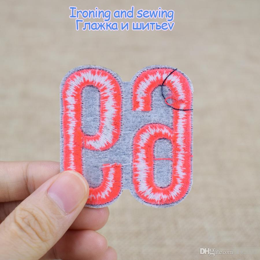 NO.69 Patches for Clothing Shoes Iron on Transfer Applique Patch for Jeans Bags DIY Sew on Embroidery Badge