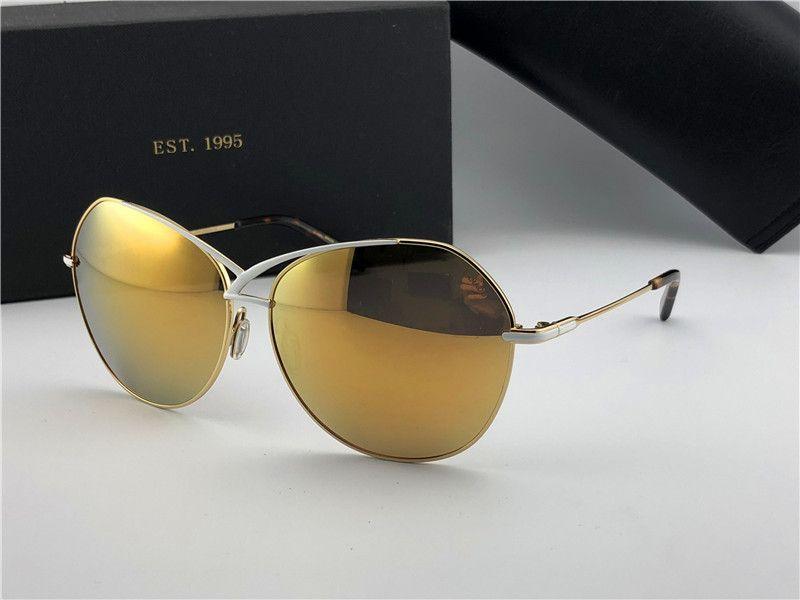 f88def6e507 New Luxury Brand Sunglasses DT Women Design Round Circle Sunglasses ...