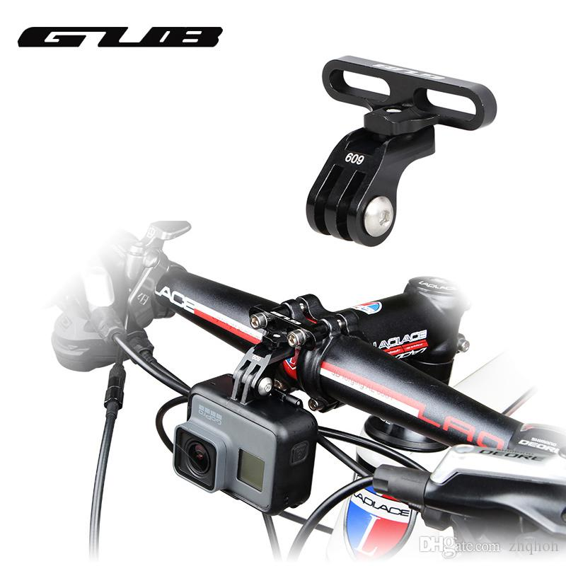 GUB 609 Aluminum Bicycle Holder Adapter For GoPro Camera Light Lamp ...