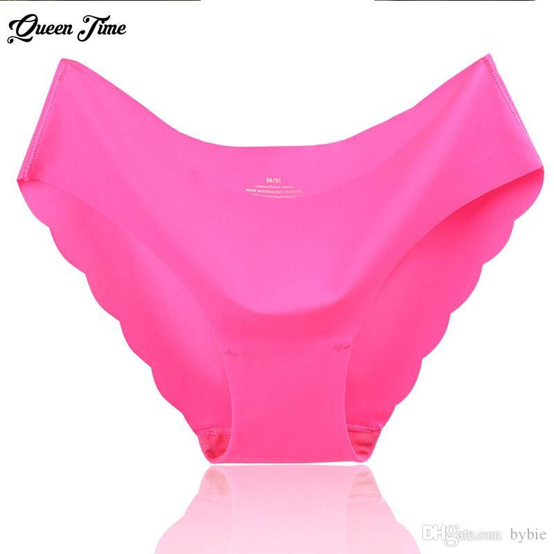 c65329dcd9 2019 Special Offer New Seamless Ruffles Ultra Thin Comfort No Trace Women  Underwear Seamless Panties Low Rise Briefs Hot Sale From Bybie