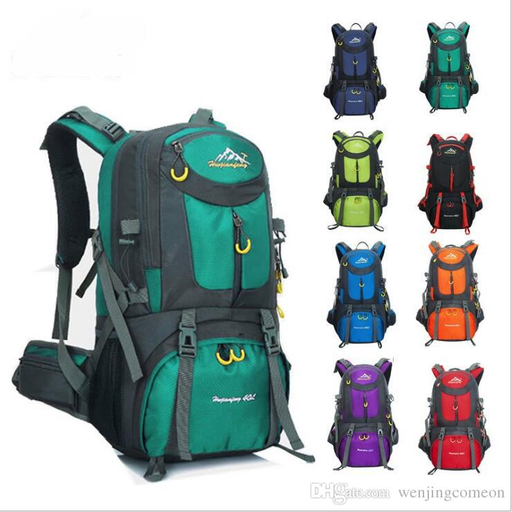 cad4de6aff41 60L Waterproof Sports Backpack Hiking Trekking Camping Travel Backpack Pack  Climbing Rucksack Knapsack 50L 40L Kids Travel Bags Backpacks For School ...