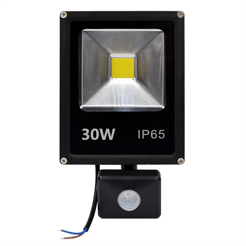 Motion Sensor Led Flood Light 50w 30w 10w Waterproof Pir Floodlight