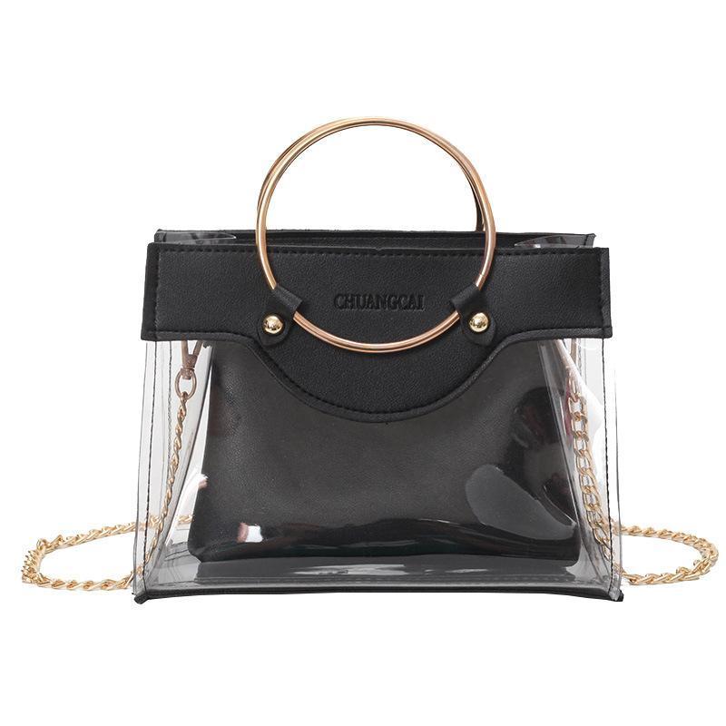 66a19463749 New Fashion Women Designer Handbags Wild Ring Girls Chain Luxury Handbag  Belt Shoulder Bags Brand Messenger Bag Crossbody Bags For Women Satchels  Leather ...