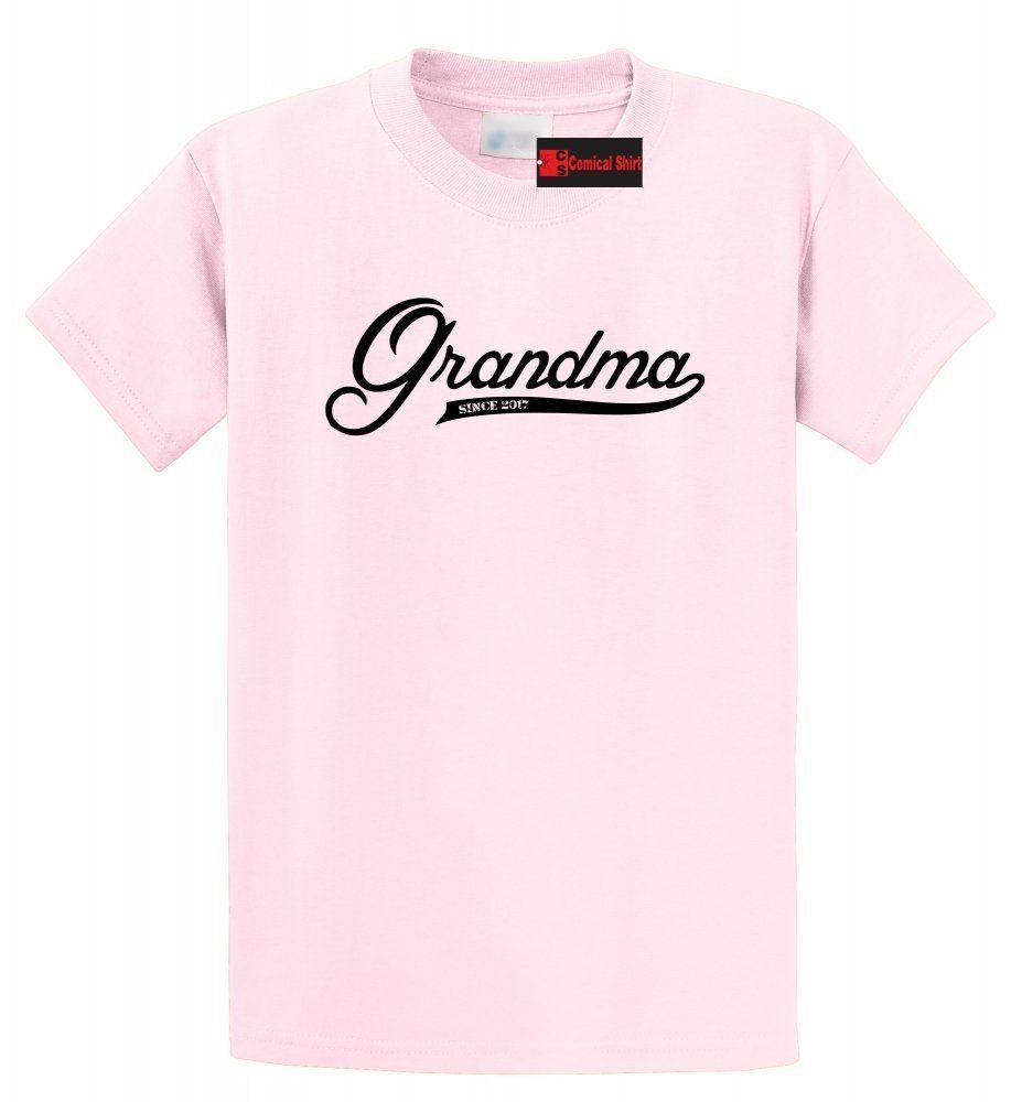 70f9dbe08b Grandma Since 2017 Cute New Grandma T Shirt New Baby Mothers Day Gift Tee  Funny Unisex Casual Tee Gift T Shirt Best Discounted T Shirts From  Elite_direct, ...