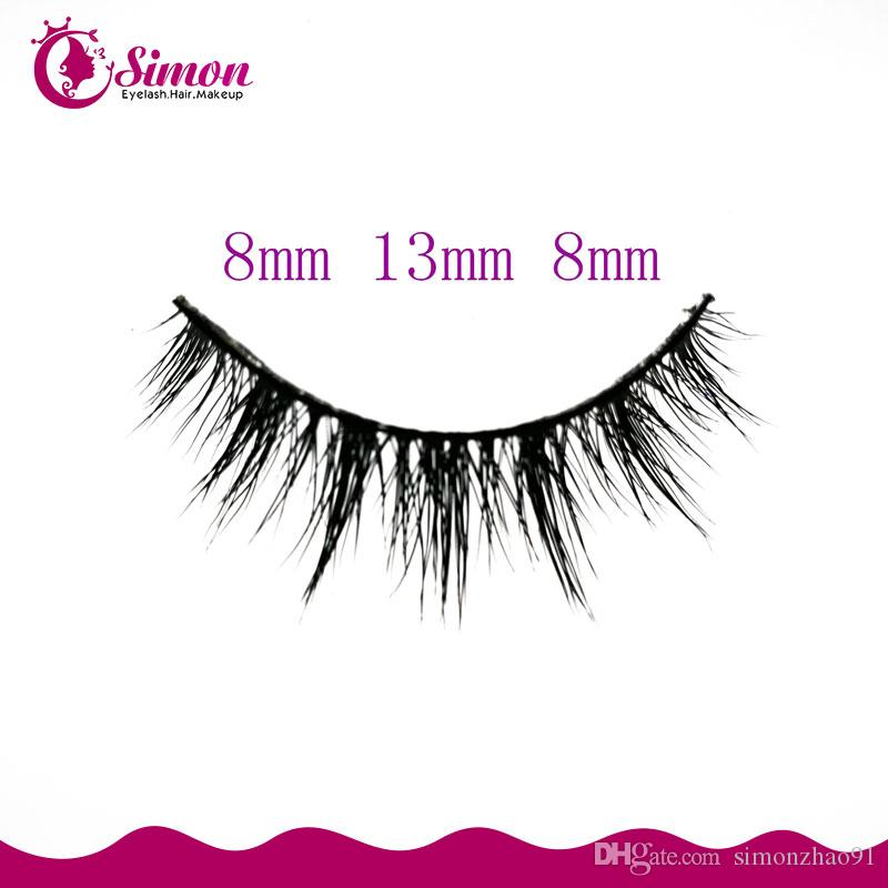 16ec89560b9 Hand Made Black Band Natural Looking False Eyelashes Fashion Creative  Makeup Eyelash Stage Cosplay Pink Feather False Eyelashes SM25 False  Eyelashes ...