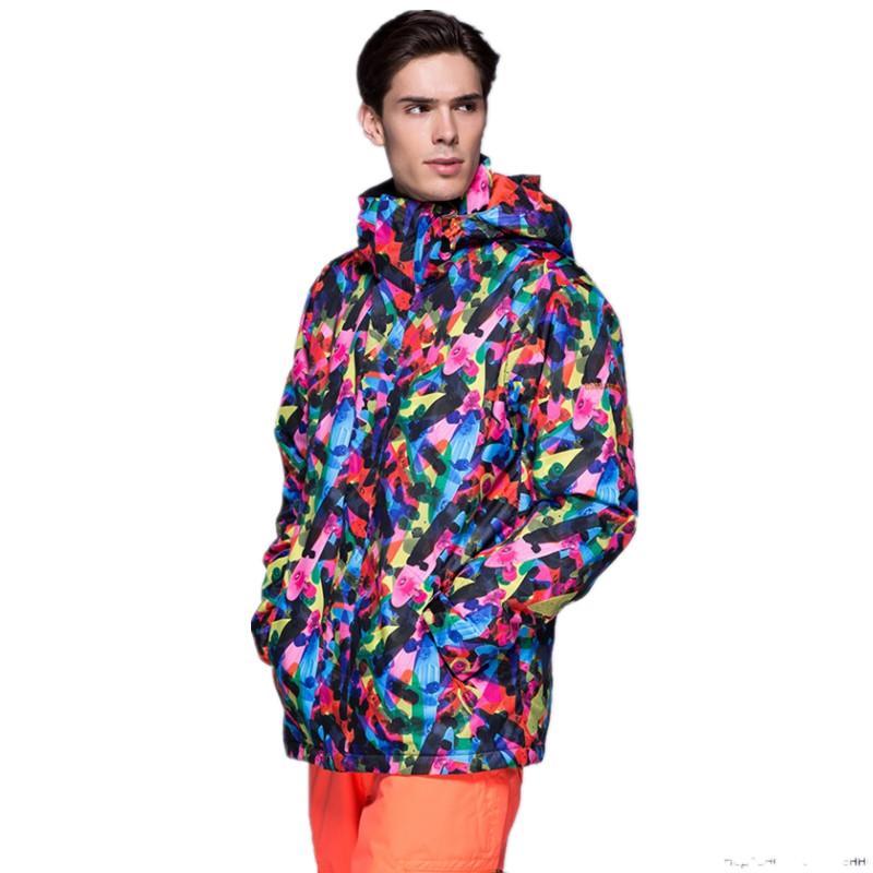 e2d75672c24 Brand Winter Ski Jackets Men Outdoor Thermal Waterproof Snowboard ...