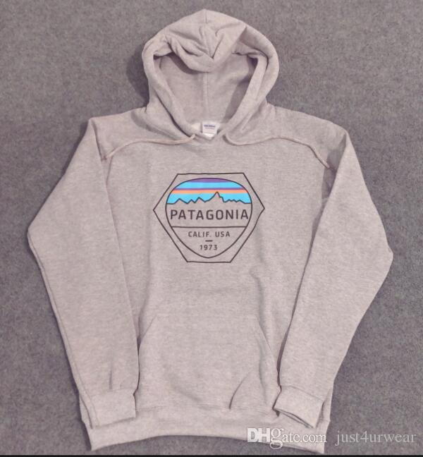 PATAGONIA Hoodies Mens Fashion Brand Skateboard Streetwear Hooded Sweatshirts  Women 1973 Letter Print Hoodies Hommes Pullover Tops UK 2019 From  Gentlecasual ... 2738148e7