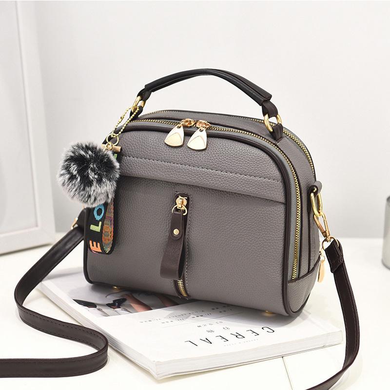 ab4db512c54 2019 Fashion New Crossbody Bags For Women 2018 Handbag Shoulder Bag Female  Leather Flap Cheap Women Messenger Bags Small Bolsa Feminina Ladies Purses  ...