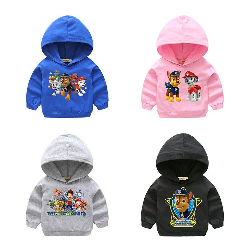 76159662d 2018 Cartoon Dog Design Sweatshirts For Kids Children Long Sleeve ...