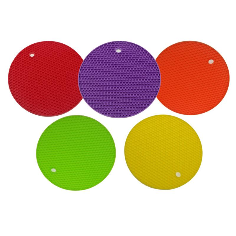Silicone Hot Mats And Trivets Insulation Pot Holders Spoon Rest Jar Opener  Heat Resistant Kitchen Tool Non Slip 7 X 7 X 0.3inch Silicone Hot Pads  Silicone ...