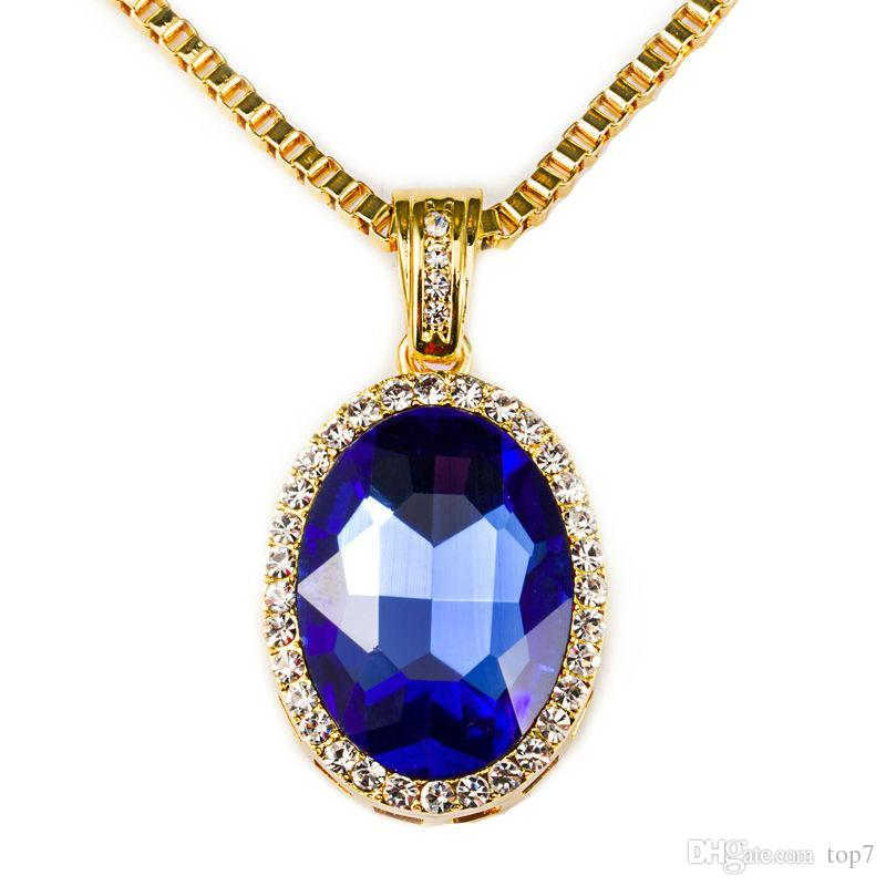 of pointe sandi necklace pendant collections crystal library blue virtual
