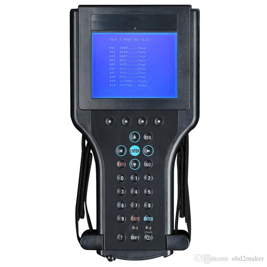 ferramenta de diagnóstico tech2 gm alta qualidade para GM / SAAB / OPEL / SUZUKI / ISUZU / gm tecnologia 2 scanner de Holden V-etronix com caixa de plástico