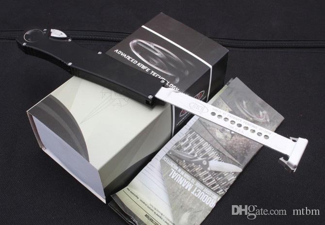 novo Botão com trava de segurança MT 150-10 branco elmax lâmina tanto ponto de gota Alça de alumínio K bainha CNC