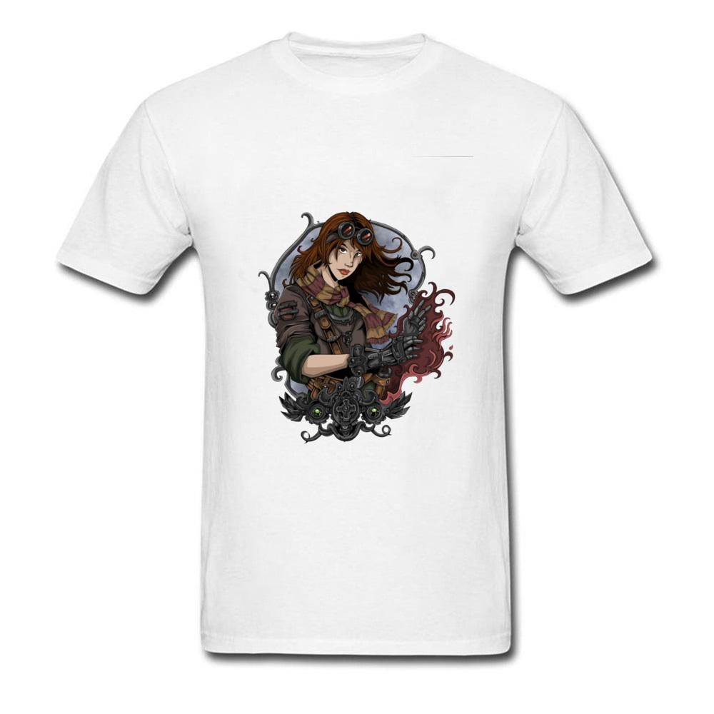 d141aa7ed Retro Style Design T Shirts Men Round Collar Fashion Brand Short Sleeved  Clothing Plus Size Steampunk Girl Graphic Tee Shirt It T Shirt The T Shirt  From ...