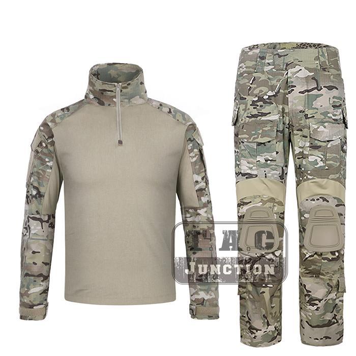 70127574842bc 2019 EmersonGear G3 BDU Combat Shirt & Pants Camouflage Multicam Tops & Trousers  Tactical Hunting GEN3 Uniform Set From Booket, $208.97 | DHgate.Com