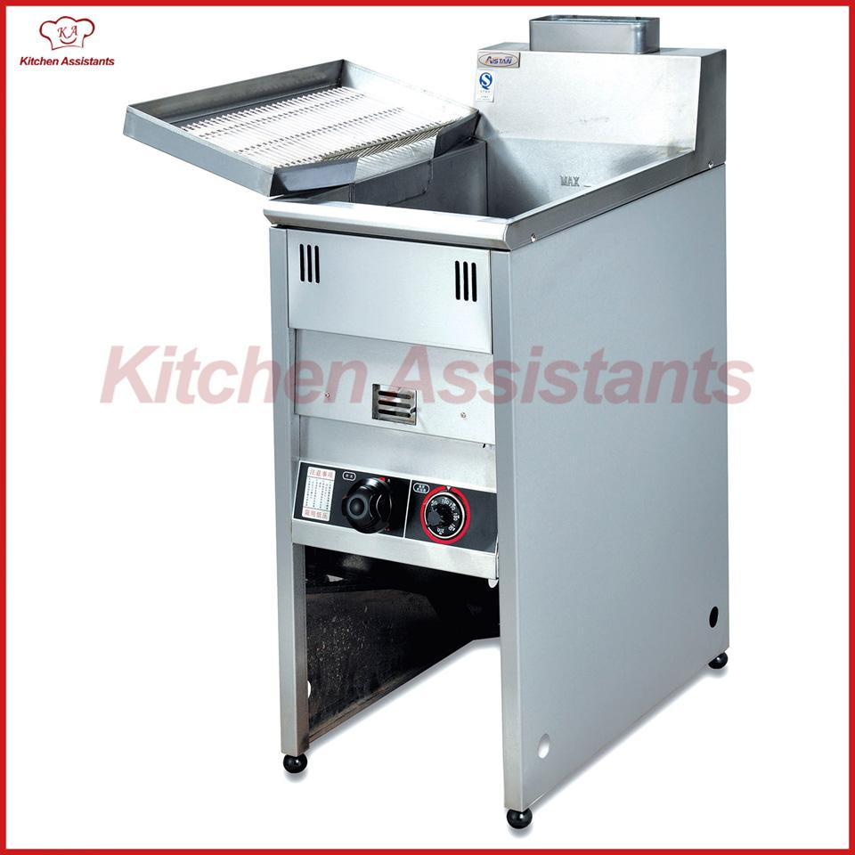 GF3G Vertical Gas Temperature-controlled Commercial Oil Potato Large ...
