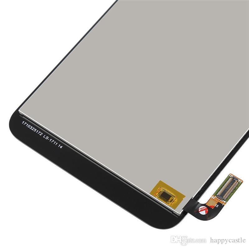 Montaje completo Pantalla LCD Pantalla táctil Reemplazo del digitalizador para LG Aristo 2 LM-X210M SP200 X210TA Metro PCS + Marco Parte de reparación del teléfono