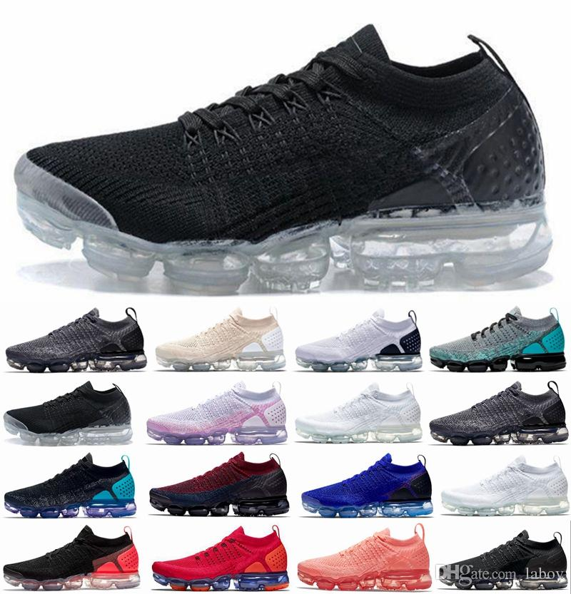 online store 7bd48 f99fd Compre 2018 Nuevo 2.0 Láser Naranja Racer Azul Light Cream White Men Mujer  Running Zapatillas Triple White Black Sports Sneakers Off Designer  Chausseures A ...