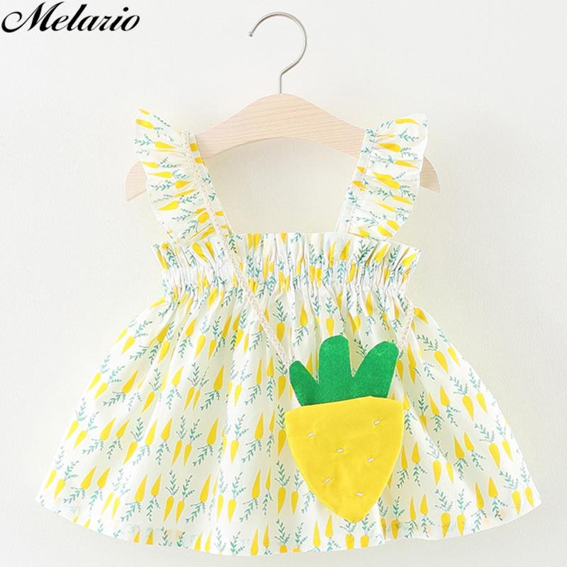 34817fa04284 2019 Melario Baby Dresses 2018 0 3Years Old New Summer Fashion Style ...