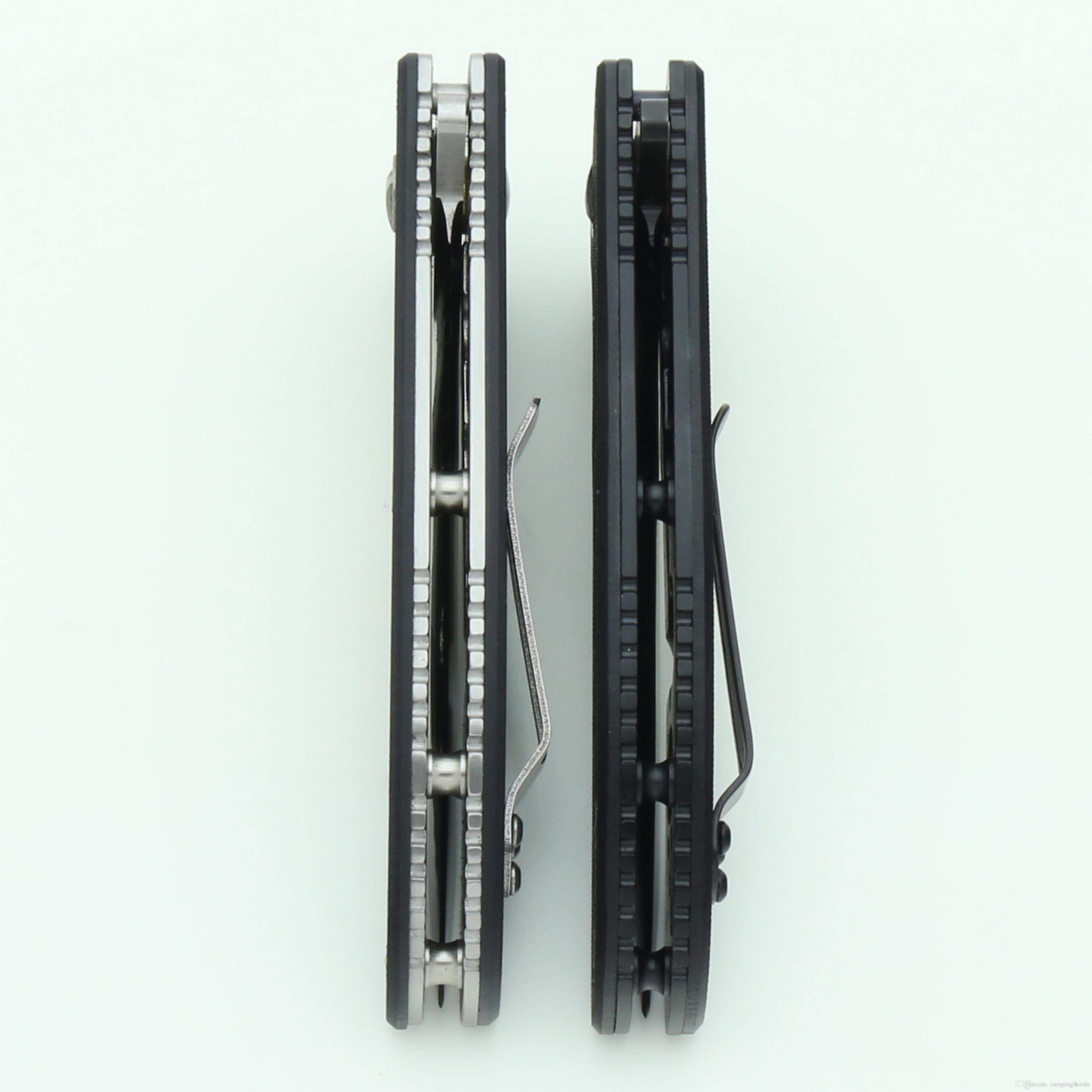 전쟁 늑대 톱니 접는 나이프 8Cr13Mov 블레이드 G10 핸들 야외 스포츠 캠핑 하이킹 사냥 전술 전투 선물 나이프 포켓 EDC 도구