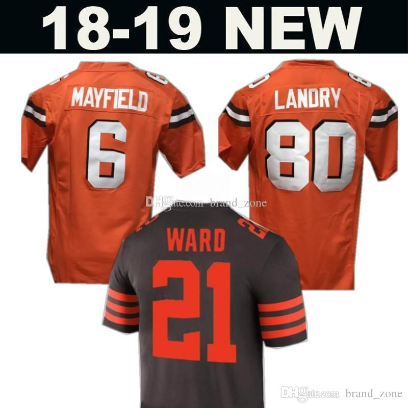 eca8deabb ... where can i buy 2018 new color rush mens cleveland browns jersey 6  baker mayfield 95