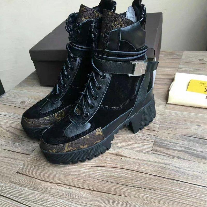 3e80986025 First Layer Cowhide Stitching Cow Suede Belt Ankle Boots Women Riding Rain Boot  BOOTS BOOTIES SNEAKERS Dress Shoes Cheap Cowgirl Boots Mens Dress Boots From  ...