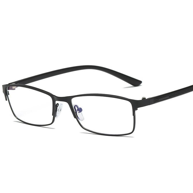 d73867c66ec 2018 New Spectacles Metal Eyebrow Men Glasses Jelly Color Flat ...