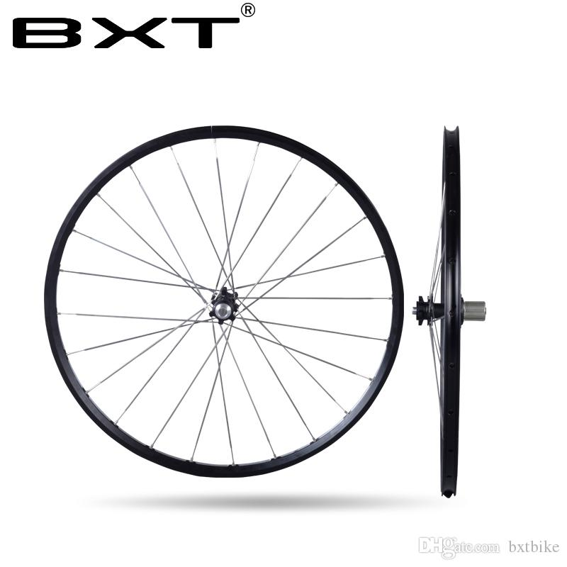 2018Chinese alloy mtb wheelset 29er 27.5er Six Holes Disc Brake aluminum rims bike Wheel CR 24H 11 Speed Support bicycle Wheels