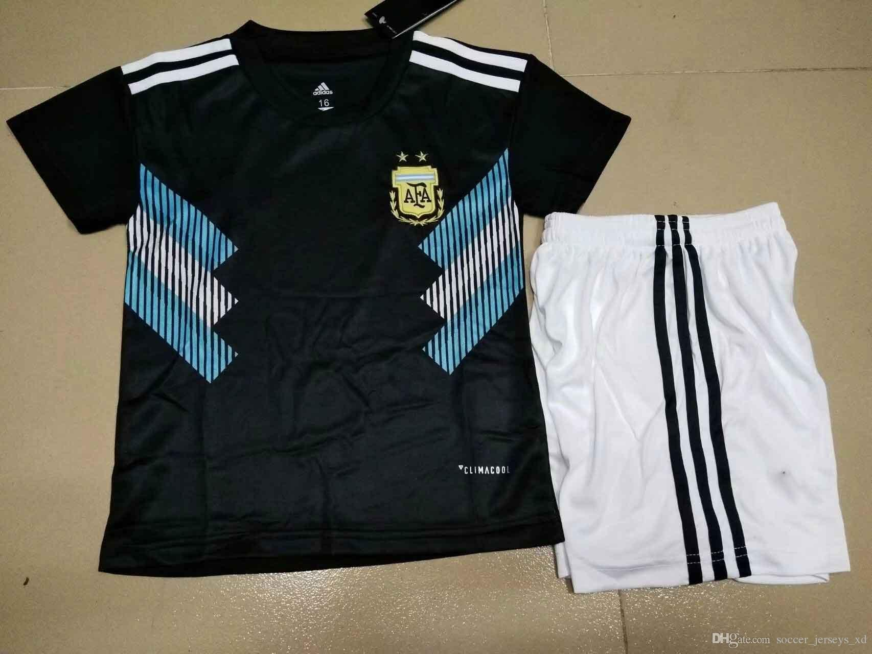 New 2018 Soccer Jersey World Cup Argentina Home Away MESSI DI MARIA AGUERO  Thai Quality Argentina Camisas Football Shirts UK 2019 From  Soccer jerseys xd da48cecbbcd32