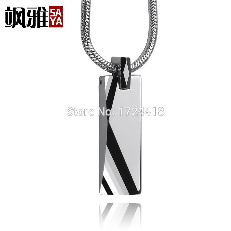 Best custom shiny polished engraved mens tungsten pendant necklace best custom shiny polished engraved mens tungsten pendant necklace 25mm thick snake chain cool designer pendant jewelry under 3095 dhgate aloadofball Image collections