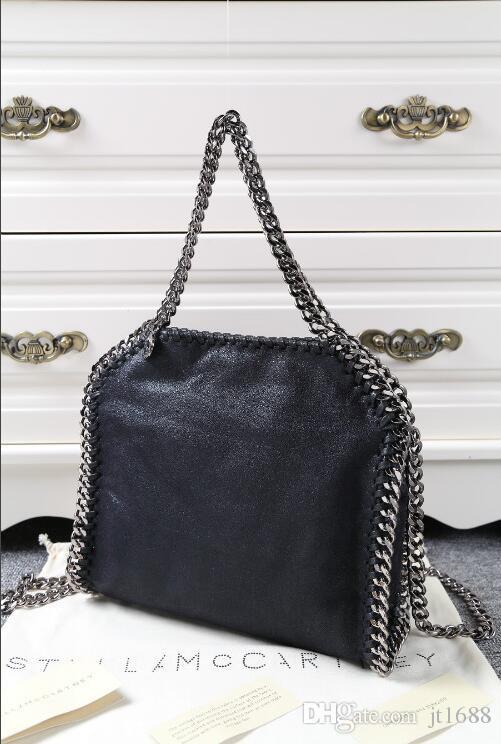 Free Ship 2018 Stella McCartney Handbags Luxury Brand Handbag Fashion Totes  Women Designer Shoulder Bags High Quality Chain Bags Wallet Fashion Bags  Leather ... 74aceaf7c1f07