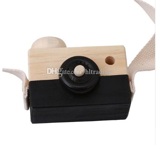 Baby Wooden Simulation Camera Kids cool travel Mini toys 2018 cute Safe Birthday Gift Cartoon Accessories Children Room C3703