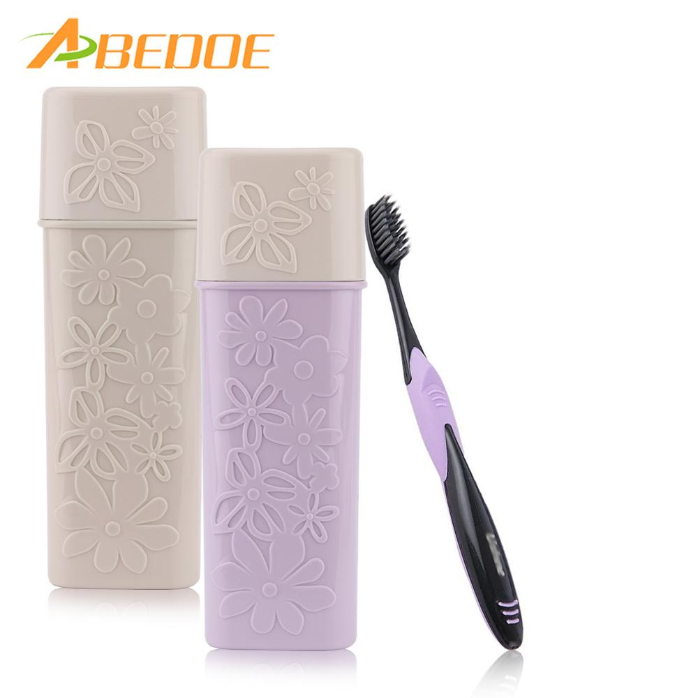 ABEDOE Portable Toothbrush Toothpaste Case Protect Holder Storage ...