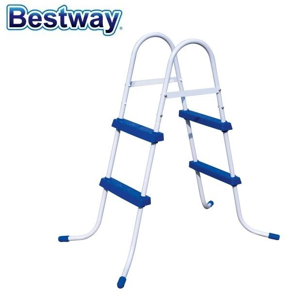 2019 58330 Bestway 42/1.07m Safety Pool Ladder Specially Designed ...