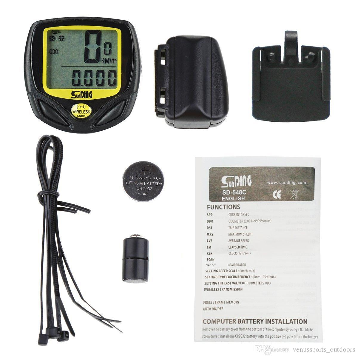 Outdoor MTB Bicycle Cycling Bike Computer LCD Display Waterproof Wireless Speedometer New Arrival Odometer Meter outdoor sports bike