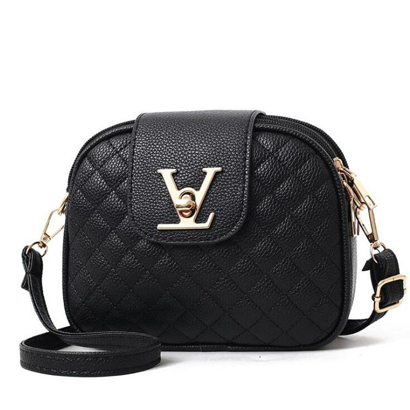 eace6926a2bb Luxury Small Crossbody Bags For Women Messenger Bags Brands Designer V  Letter Lady Shoulder Bag PU Leather Plaid Woman Bag Sac Cosmetic Brands  Kosmetik ...