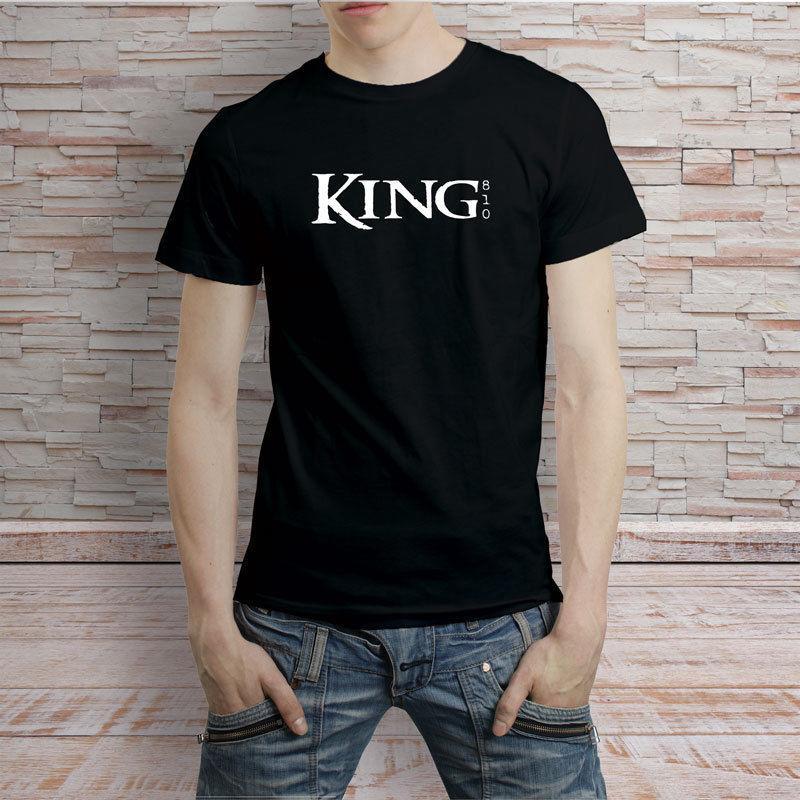 Großhandel King 810 Logo Band T Shirt T Shirt Mit Kurzen ärmeln