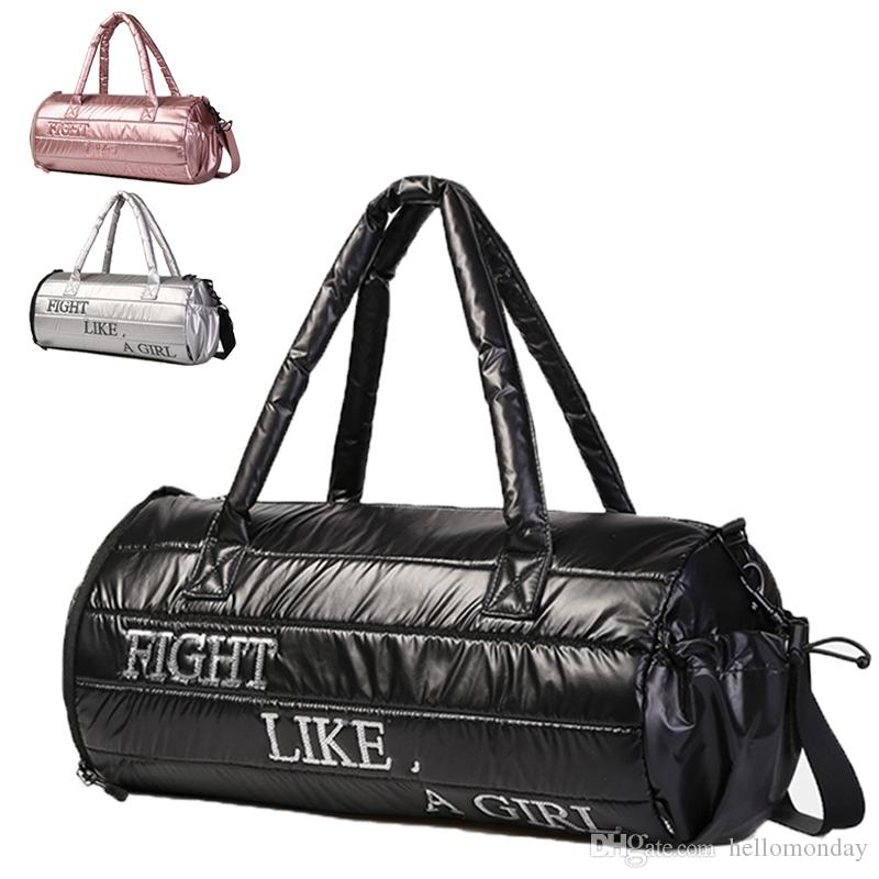541e7157abc887 Waterproof Round Gym Bag Small Travel Duffle Tote Bag with Shoes  Compartment for Men And Women Sports Bag Gym Bag Duffle Bags Online with  $34.72/Piece on ...