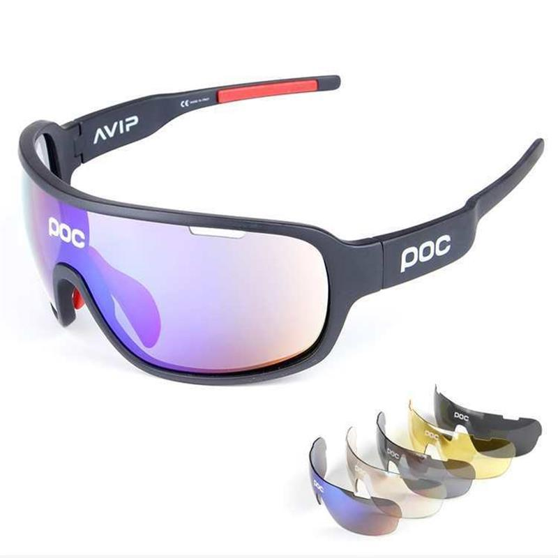 d3f50ebb12e 2019 Polarized Cycling Glasses Outdoor Sports Bicycle Sun Glasses Men Women Gafas  Ciclismo Bike Sunglasses Goggles Eyewear 5 Lens From Heheda5