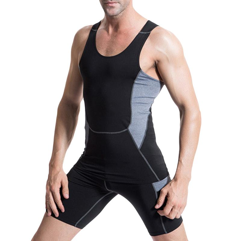 732c981620 Summer Men'S Tank Tops Hot Elastic Compression Tight Fitness Casual Stretch  Workout Singlet Vest S-3XL Mens Clothing. Store-wide Discount