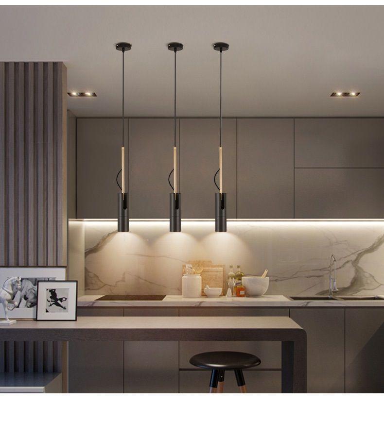 Bedside Pendant Down Light Hanging Kitchen Suspension Lamp LED Spot  Lighting LED Down Light Adjustable Downlight Hanglamp