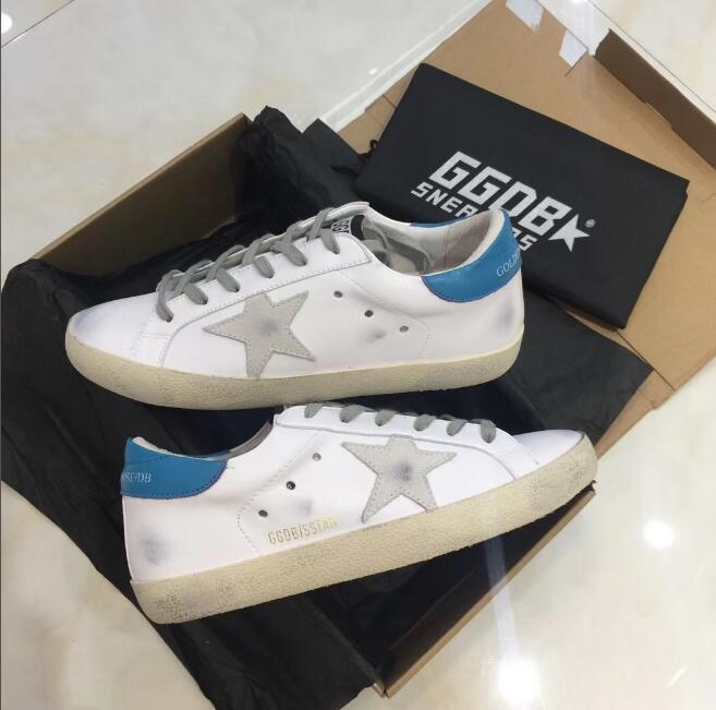 fdf brand Golden Goose Ggdb Genuine Leather leather suede dress ladies tennis oxford shoes online Luxury Superstar trainer 36 39