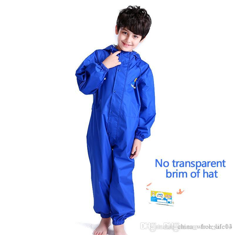 68ad524157f2 2019 Waterproof Raincoat Toddler Children Pants Baby Rain Coat ...