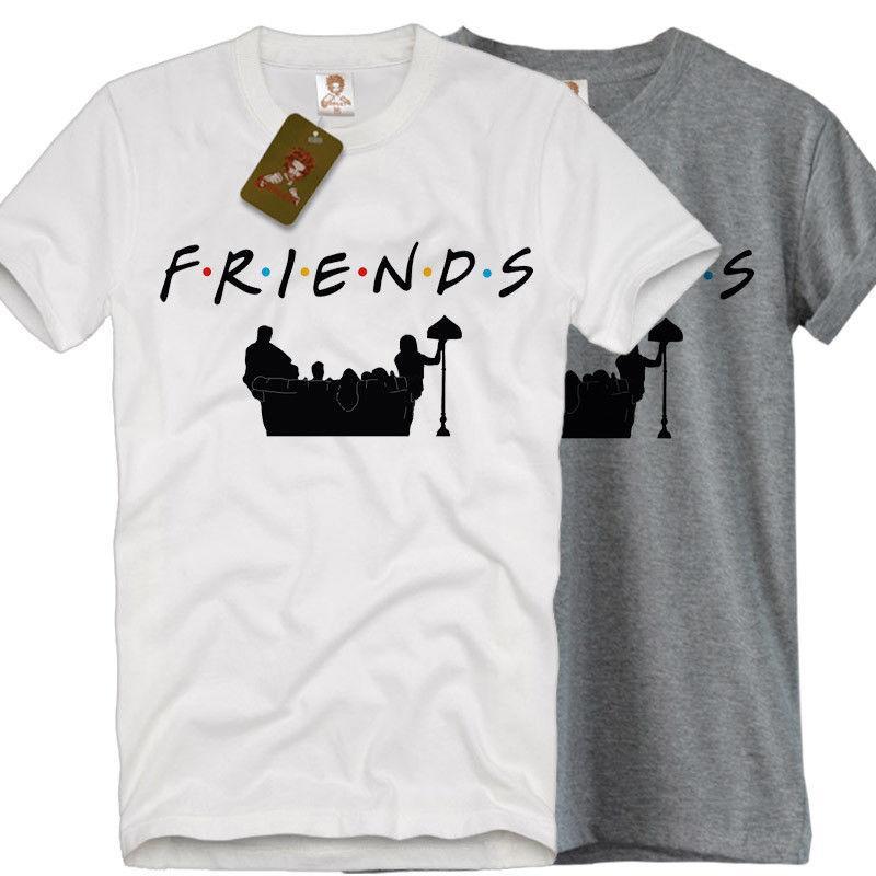 4ebada388 FRIENDS Shirt Sofa Friends T-Shirt Logo 90's TV show tumblr retro chandler  retro Funny free shipping Unisex Casual Tshirt top